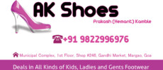 AK Shoes – Gents Casual Shoes Footwear Shop in Margao